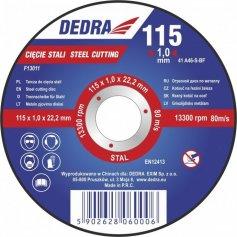 Kotouč řezný na ocel 125x1x22,2 mm