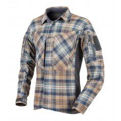 Košile MBDU Flannell Ginger Plaid 2X