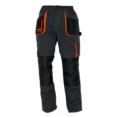 Montérkové kalhoty EMERTON, černé