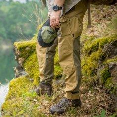 Kalhoty Hybrid Outback® Coyote/Taiga-Green, Helikon-Tex