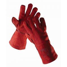 Svářečské rukavice SANDPIPER RED, červené