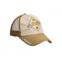 Kšiltovka Trucker Logo Khaki / Hnědá