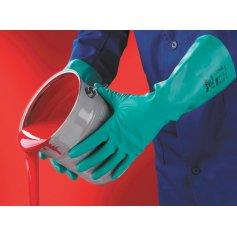 Chemické rukavice SOL-VEX 37-695