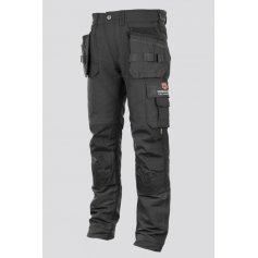 Pánské strečové montérkové kalhoty Erebos Promacher, černé
