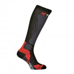 Funkční kompresní ponožky Compression, -10 / + 15 ° C, černé, XTECH