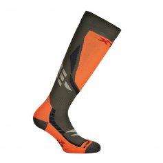 Funkční ponožky X-Orange, -15 / + 10 ° C, zeleno-oranžové, XTECH