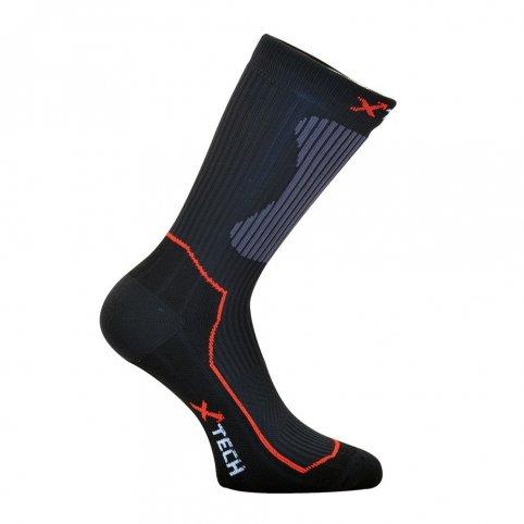 Funkční ponožky calze XT55, černé, XTECH