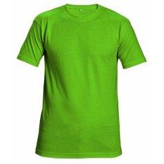 Tričko Teesta s krátkým rukávem, limetkové