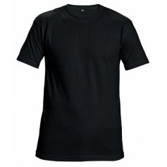 Tričko Teesta s krátkým rukávem, černé