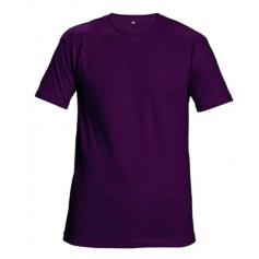 Tričko Teesta s krátkým rukávem, petrolejové