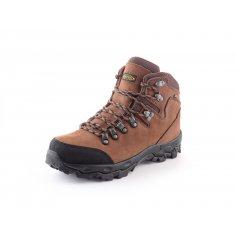Kotníková trekingová obuv GOTEX MONT BLANC, hnědá