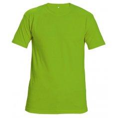 Tričko Teesta FLUORESCENT s krátkým rukávem, zelené