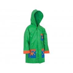 Dětská pláštěnka žába, zelená
