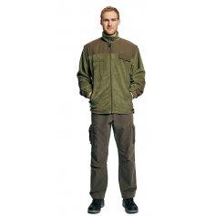 Fleecová bunda RANDWIK 2 v 1, zelená