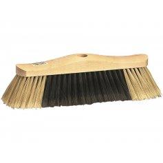 Smeták dřevěný 30 cm, bez závitu, jemný vlas