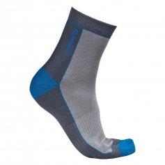 Funkční ponožky ACTIVE, šedo-modré