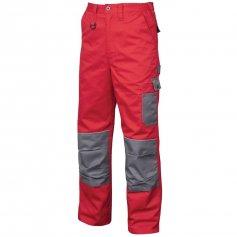Montérkové kalhoty 2STRONG, červeno-šedé