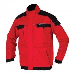 Montérková bunda COOL TREND, červeno-černá