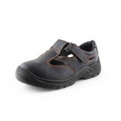Sandály s ocelovou špicí STONE nefrit S1