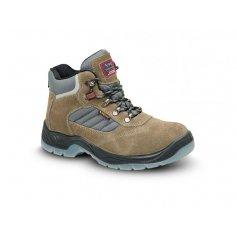 Kotníková obuv s ocelovou špicí LISABON S1