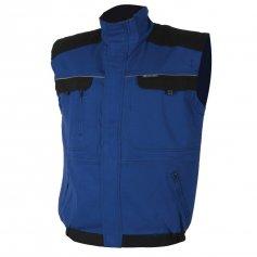 Montérková vesta COOL TREND, modro-černá