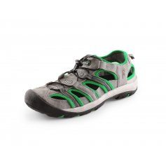 Sandály SAHARA, šedo-zelené