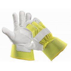 Kombinované zateplené rukavice CURLEW WINTER, žluté