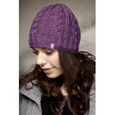 HEAT HOLDERS dámská zimní čepice s termo podšívkou HEATWEAVER fialová