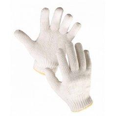 Pletené bezešvé rukavice AUK