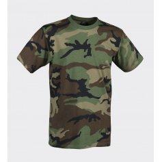 Krátké tričko US Woodland, Helikon-Tex