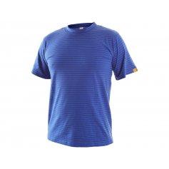 Antistatické tričko ESD, modré