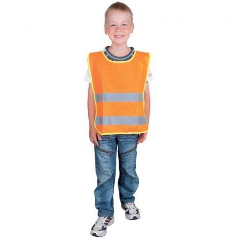 Detská reflexná vesta ALEX JUNIOR, oranžová