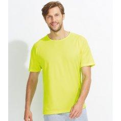 Pánské raglánové tričko Sols 1939, neonově žluté