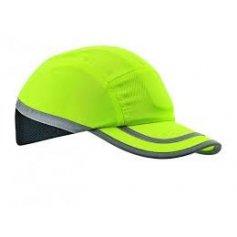 Bezpečnostní čepice Hi-Vis s ochrannou výztuhou hartebeest, žlutá