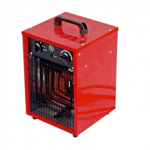Ohrievač el 1650/3300W termostat,fan