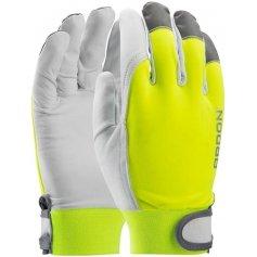 Kombinované reflexní rukavice HOBBY s blistrem