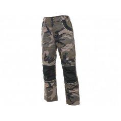 Dětské kalhoty do pasu WOODY, maskáčové