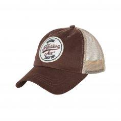 Šiltovka Trucker Logo Mud Brown